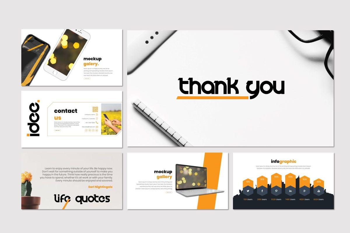 Idee - Keynote Template, Slide 5, 07067, Presentation Templates — PoweredTemplate.com