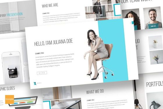 Presentation Templates: Huges - Google Slides Template #07068