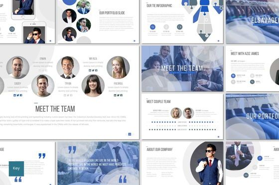 Presentation Templates: Elsavader - Keynote Template #07069
