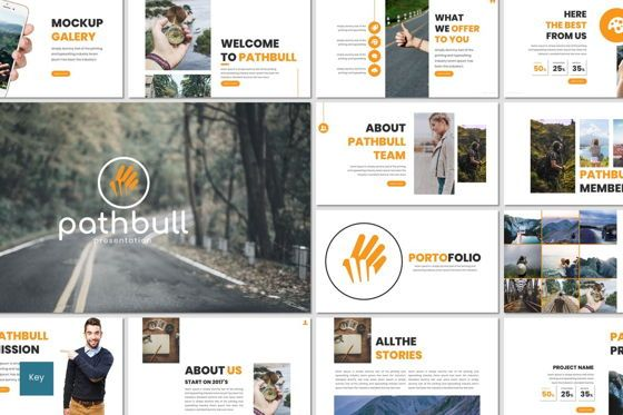 Presentation Templates: Pathbull - Keynote Template #07072