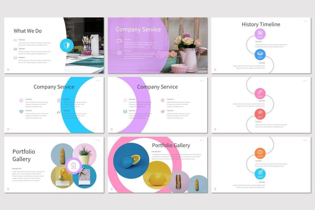 Delight - Google Slides Template, Slide 3, 07077, Presentation Templates — PoweredTemplate.com