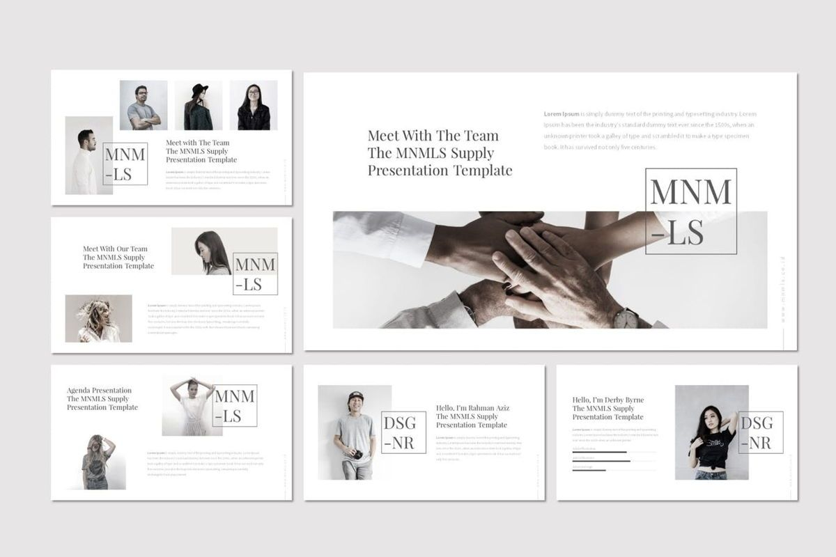 Mnmls - PowerPoint Template, Slide 3, 07081, Presentation Templates — PoweredTemplate.com