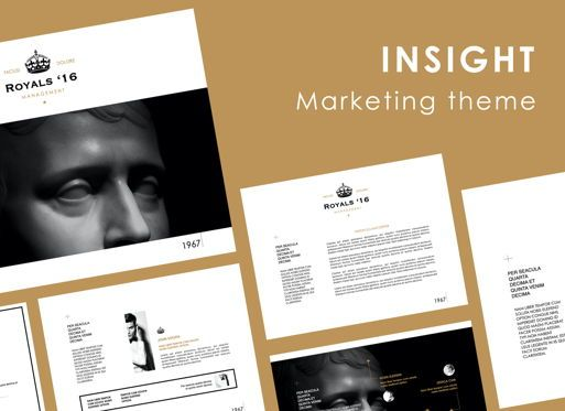 Presentation Templates: Insight Keynote Presentation Template #07096