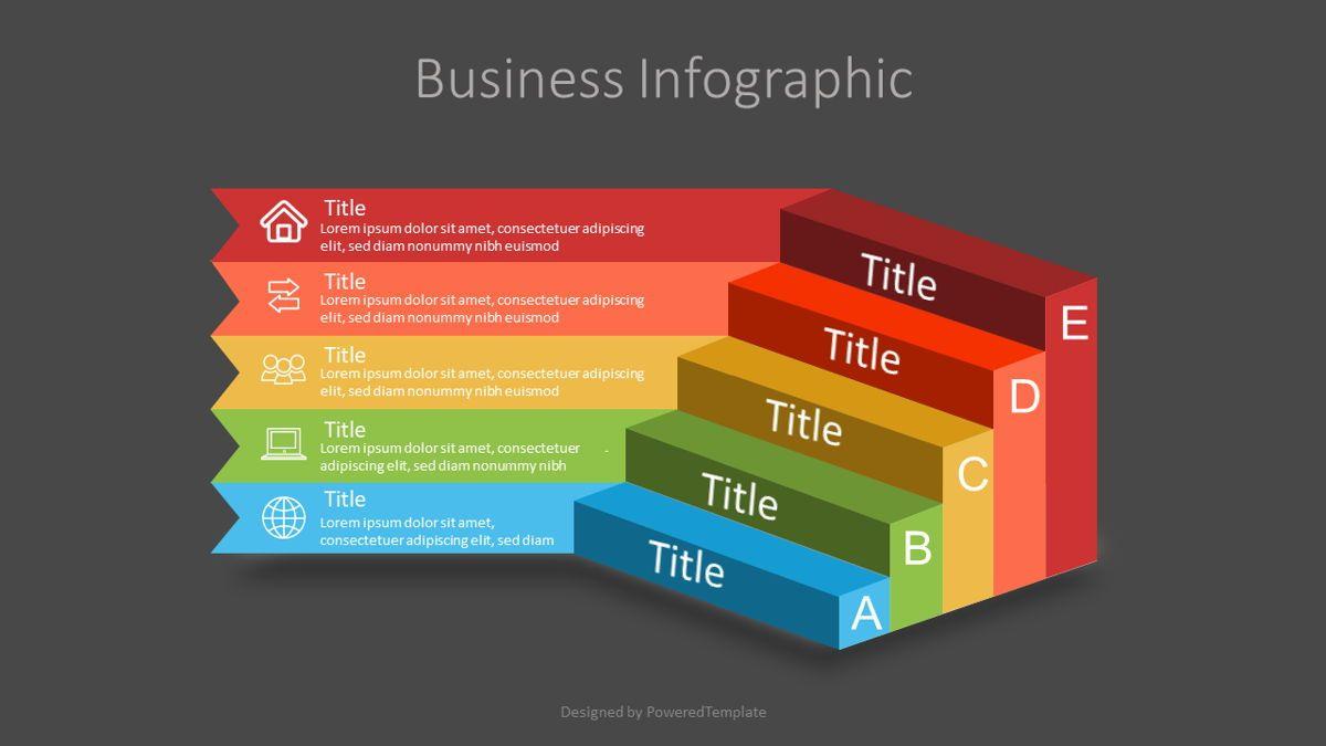 Business Steps to Success Diagram, Slide 2, 07098, Infographics — PoweredTemplate.com