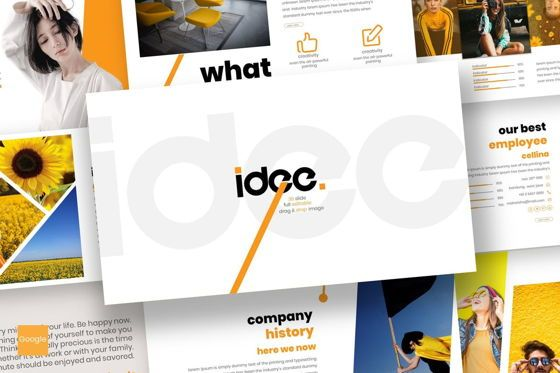 Presentation Templates: Idee - PowerPoint Template #07102