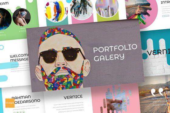 Presentation Templates: Vernice - Google Slides Template #07103