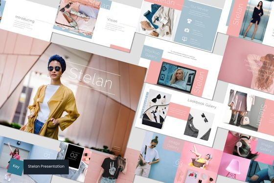 Presentation Templates: Stelan - Keynote Template #07104