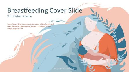 Medical Diagrams and Charts: Breastfeeding Cover Slide #07114