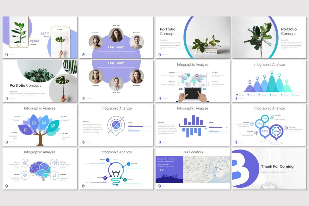 Bueno - PowerPoint Template, Slide 3, 07117, Presentation Templates — PoweredTemplate.com