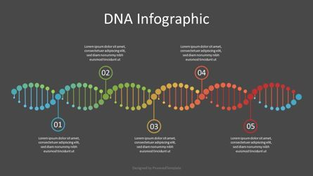 Education Charts and Diagrams: DNA Timeline Infographic #07121