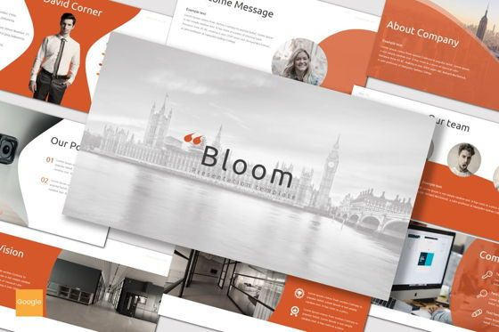 Presentation Templates: Bloom - Google Slides Template #07124
