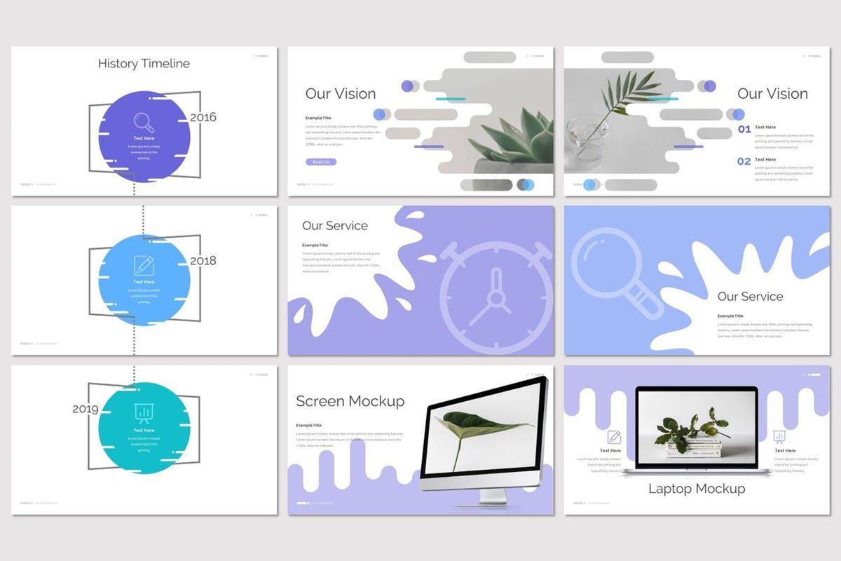 Deslizar - PowerPoint Template, Slide 3, 07125, Presentation Templates — PoweredTemplate.com