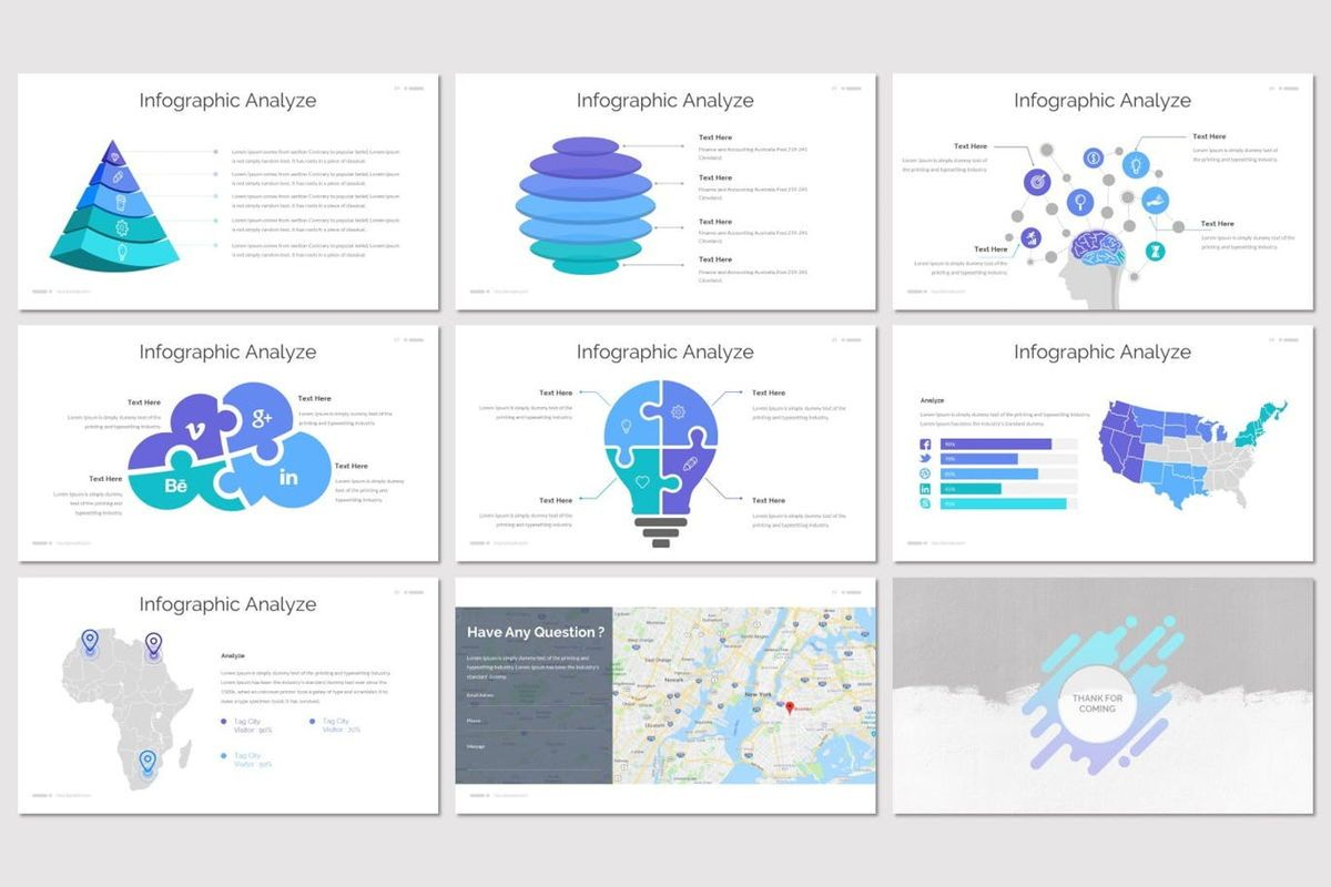 Deslizar - PowerPoint Template, Slide 5, 07125, Presentation Templates — PoweredTemplate.com