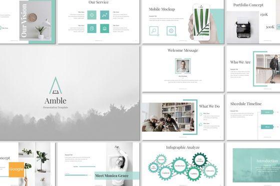 Presentation Templates: Amble - Google Slides Template #07128