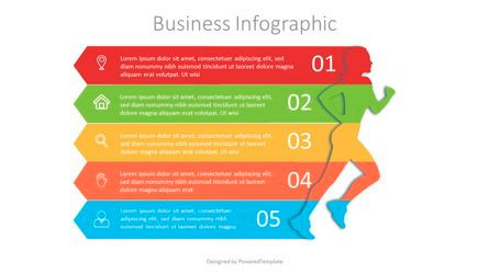 Infographics: Running Woman Infographic #07130