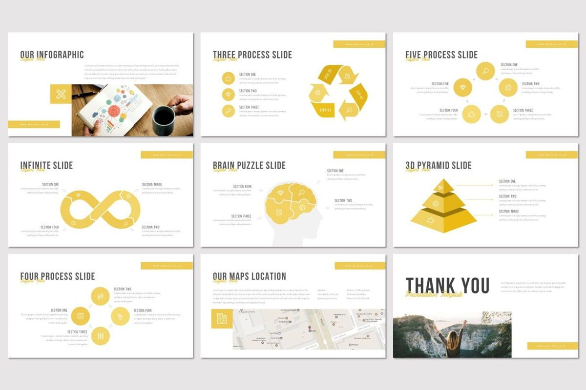 Glorious - PowerPoint Template, Slide 5, 07131, Presentation Templates — PoweredTemplate.com