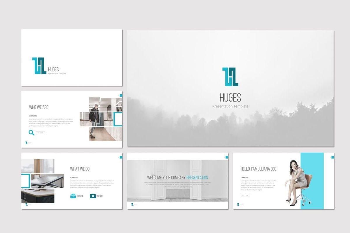 Huges - PowerPoint Template, Slide 2, 07132, Presentation Templates — PoweredTemplate.com