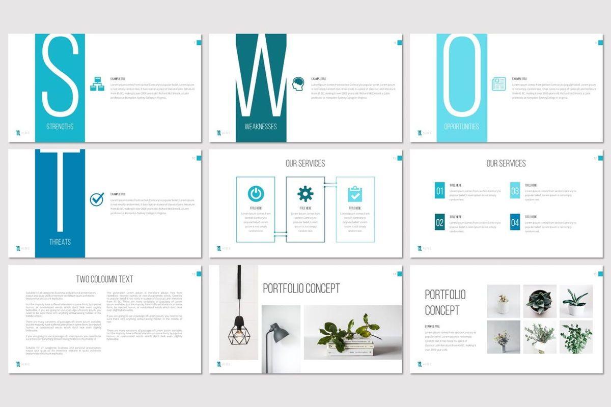 Huges - PowerPoint Template, Slide 3, 07132, Presentation Templates — PoweredTemplate.com