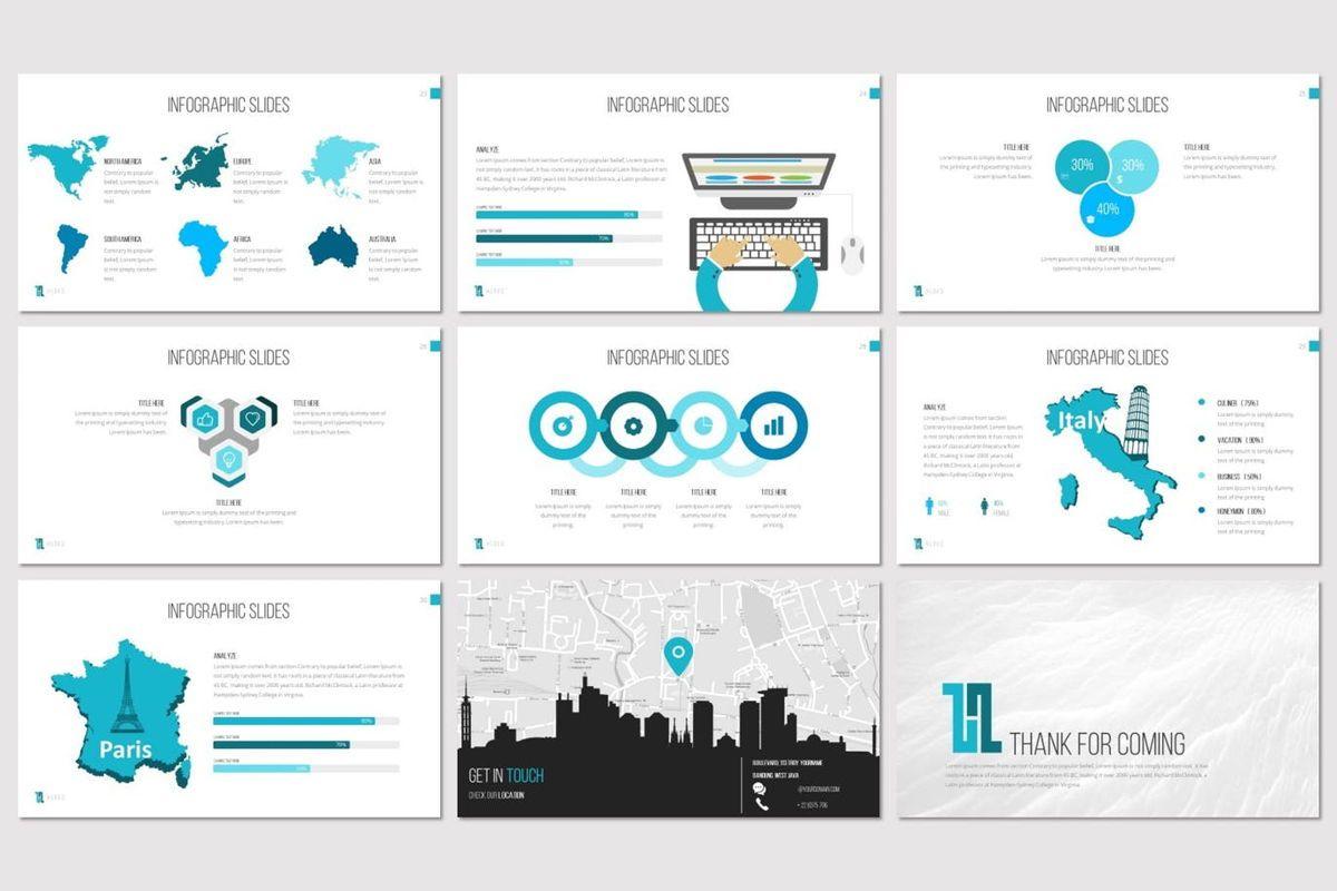 Huges - PowerPoint Template, Slide 5, 07132, Presentation Templates — PoweredTemplate.com