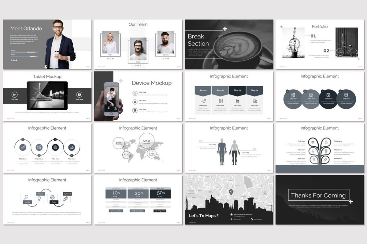 Mavka - Keynote Template, Slide 3, 07135, Presentation Templates — PoweredTemplate.com
