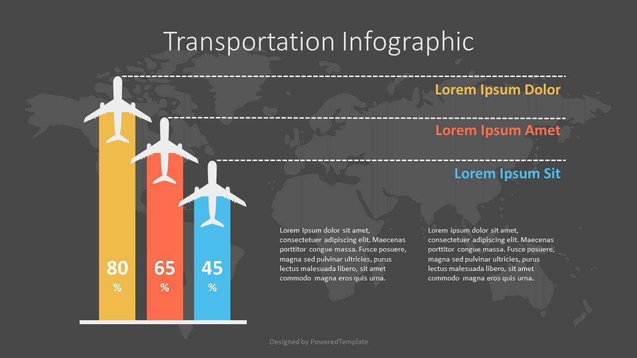 Air Travel Infographic, Slide 2, 07140, Infographics — PoweredTemplate.com