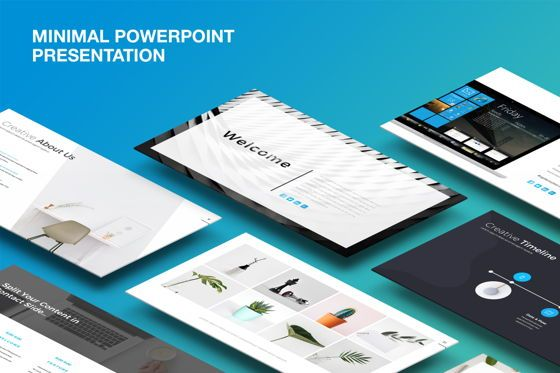 Presentation Templates: Minimal Clean Powerpoint Template #07150