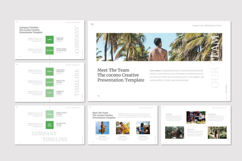 Cocono - Google Slides Template, Slide 3, 07153, Presentation Templates — PoweredTemplate.com