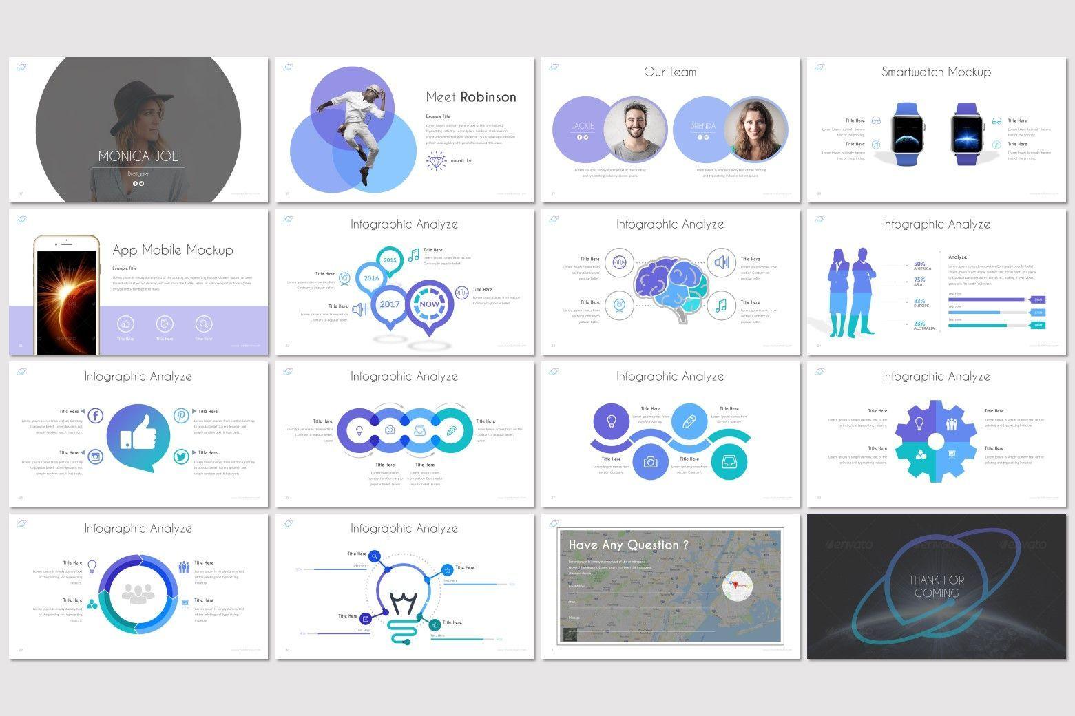 Orbit - Keynote Template, Slide 3, 07159, Presentation Templates — PoweredTemplate.com