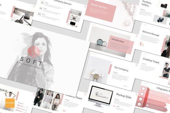 Presentation Templates: Soft - Google Slides Template #07165