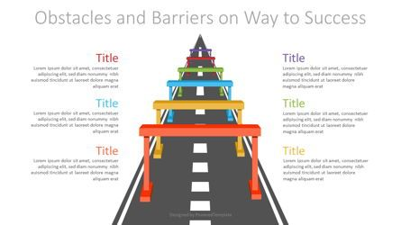 Infographics: Obstacles and Barriers on Way to Success #07166