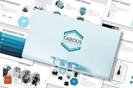 Presentation Templates: Tabous - PowerPoint Template #07170