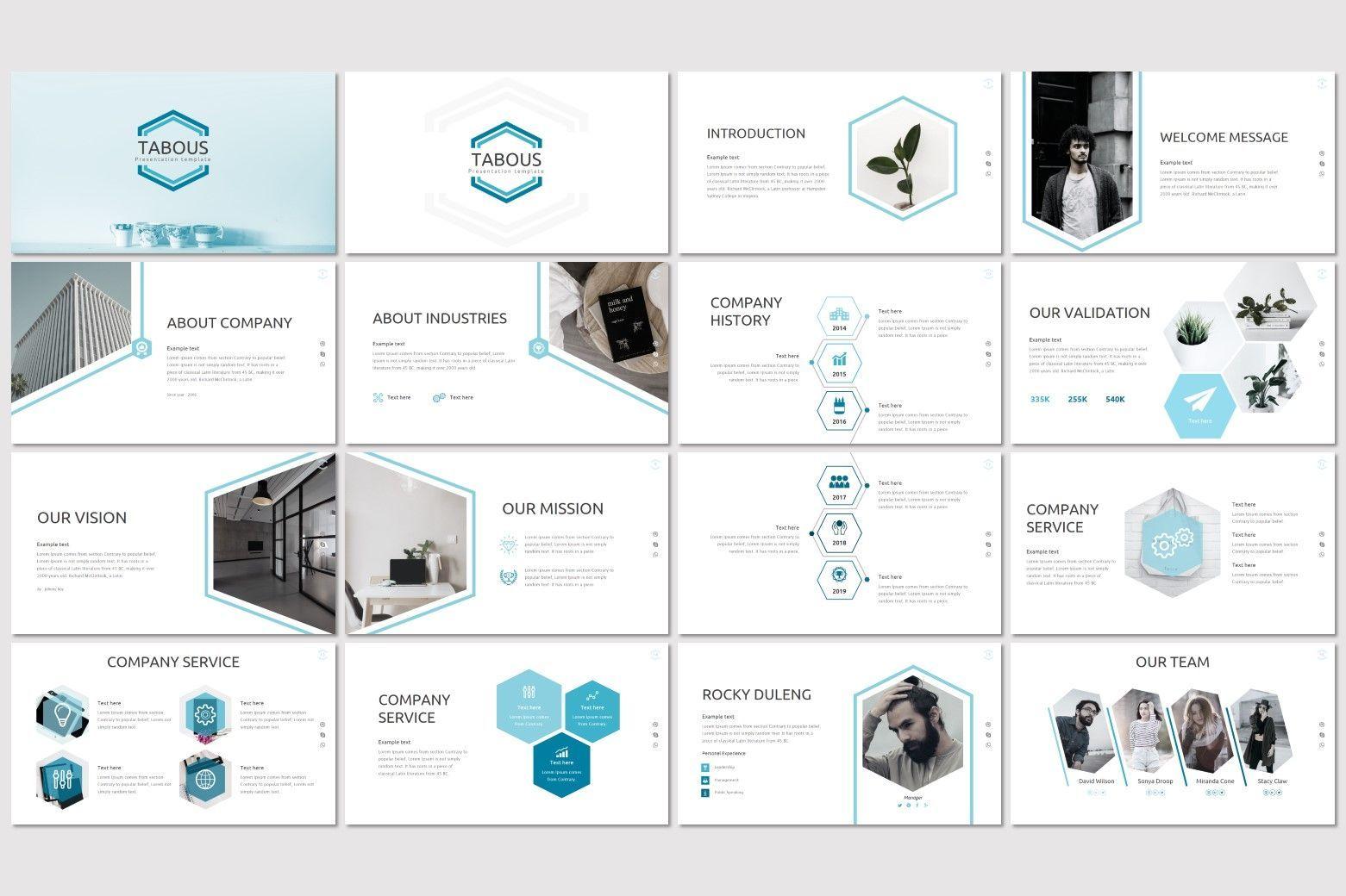 Tabous - PowerPoint Template, Slide 2, 07170, Presentation Templates — PoweredTemplate.com