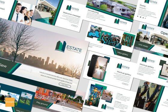 Presentation Templates: Estate - Google Slides Theme #07175