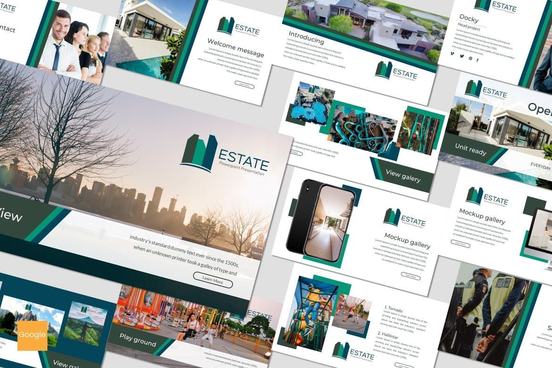 Estate - Google Slides Theme, 07175, Presentation Templates — PoweredTemplate.com