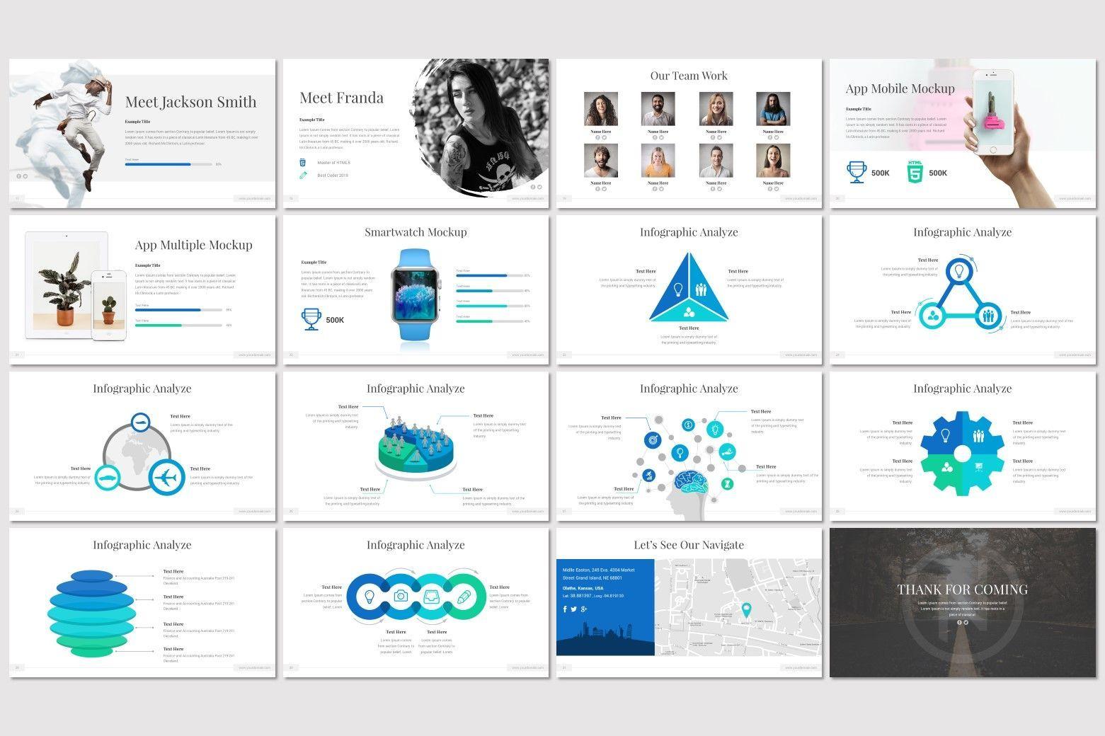 Native - PowerPoint Template, Slide 3, 07176, Presentation Templates — PoweredTemplate.com