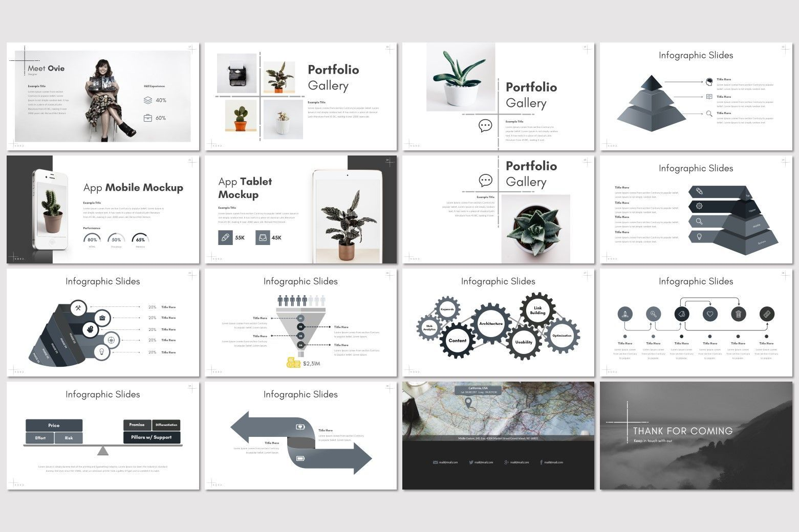 Nord - Keynote Template, Slide 3, 07177, Presentation Templates — PoweredTemplate.com