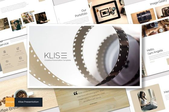 Presentation Templates: Klise - Google Slides Template #07180