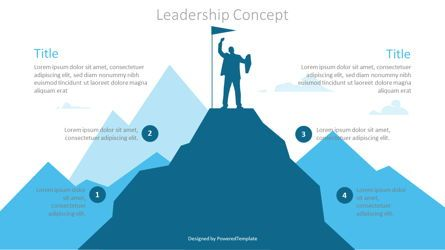 Infographics: Leadership Concept Graphics #07181