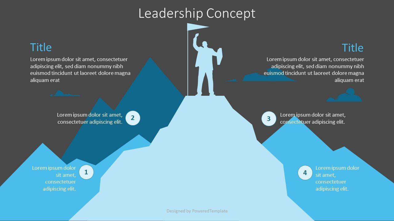 Leadership Concept Graphics, Slide 2, 07181, Infographics — PoweredTemplate.com