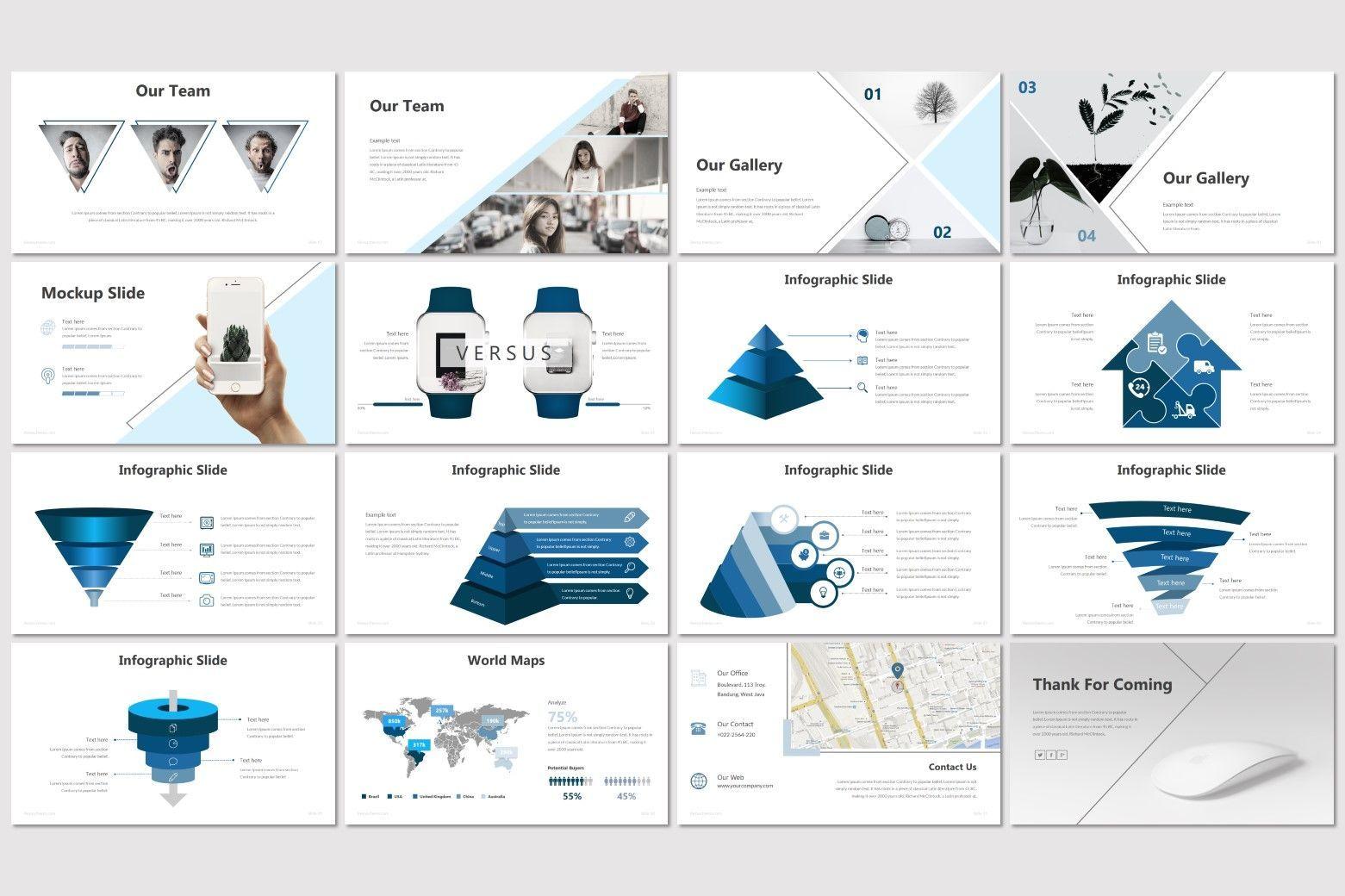 Rekxa - Keynote Template, Slide 3, 07183, Presentation Templates — PoweredTemplate.com