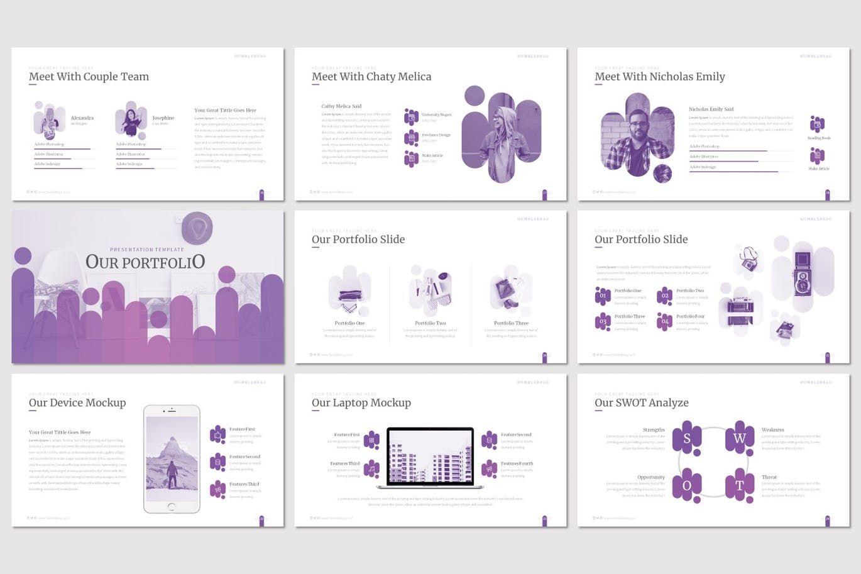 Humblebrag - PowerPoint Template, Slide 4, 07187, Presentation Templates — PoweredTemplate.com