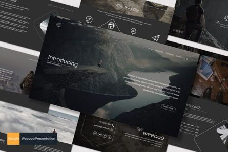 Presentation Templates: Weeboo - Google Slide Template #07198