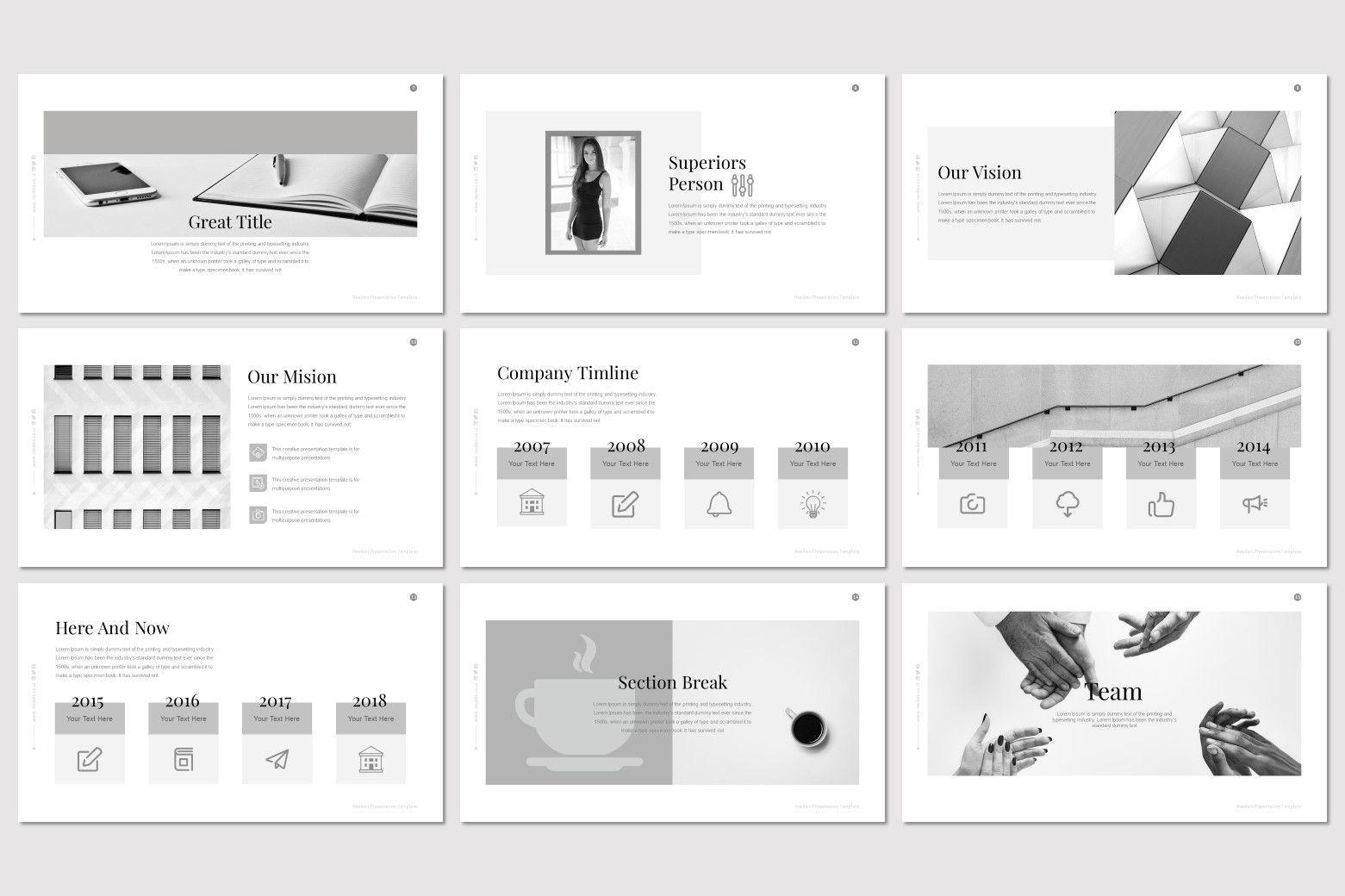 Readers - PowerPoint Template, Slide 3, 07204, Presentation Templates — PoweredTemplate.com