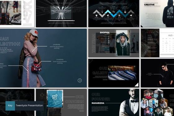 Presentation Templates: Twentysix - Keynote Template #07206