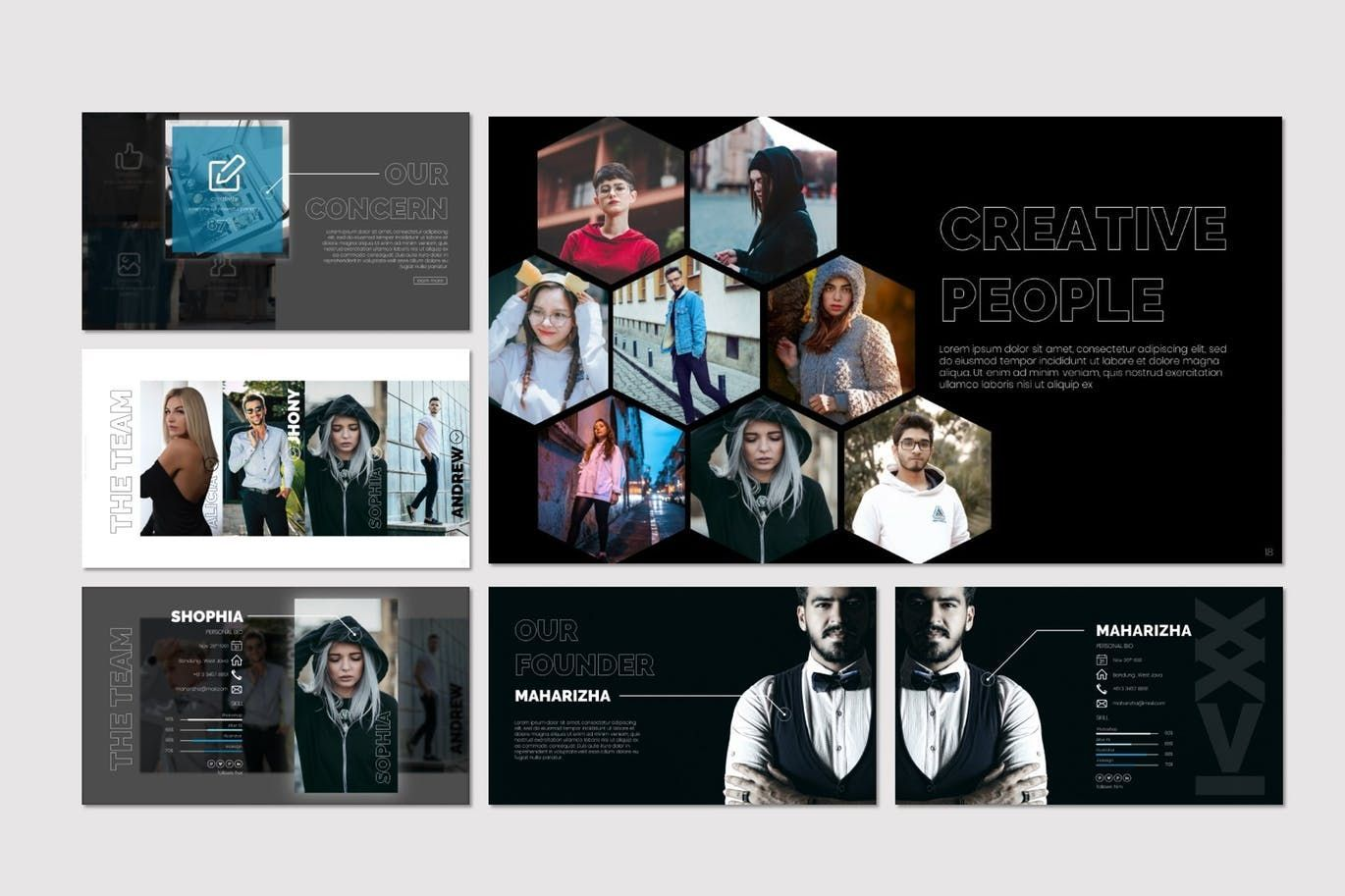 Twentysix - Keynote Template, Slide 4, 07206, Presentation Templates — PoweredTemplate.com