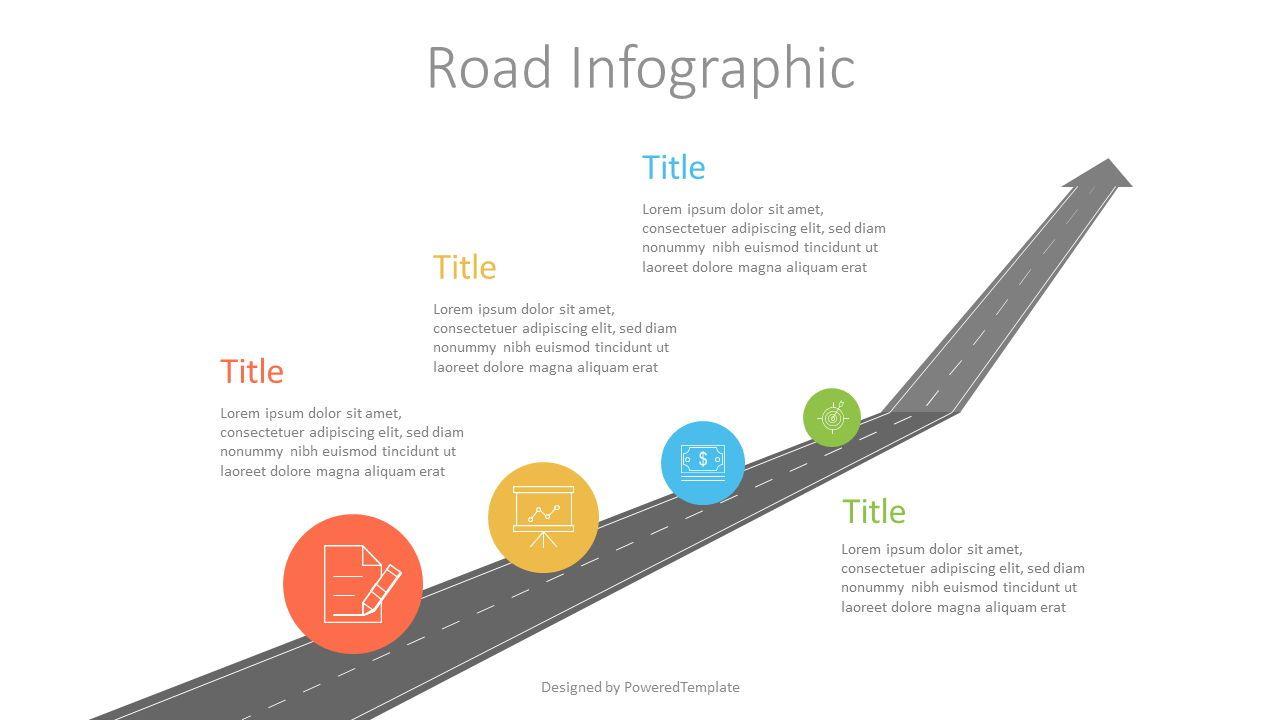 Upward Arrow Roadmap, Slide 2, 07209, Infographics — PoweredTemplate.com