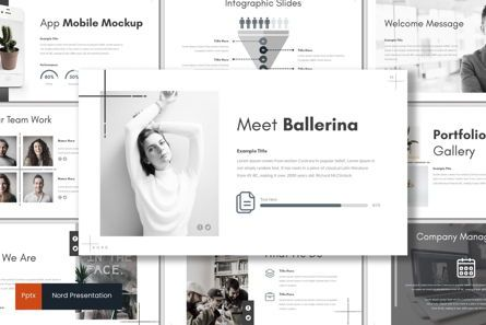 Presentation Templates: Nord - PowerPoint Template #07212