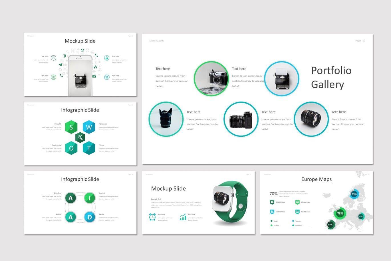 Merazu - Keynote Template, Slide 5, 07215, Presentation Templates — PoweredTemplate.com