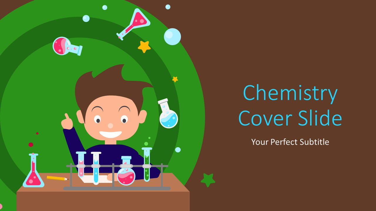 Chemistry Cover Slide, Slide 2, 07220, Education Charts and Diagrams — PoweredTemplate.com