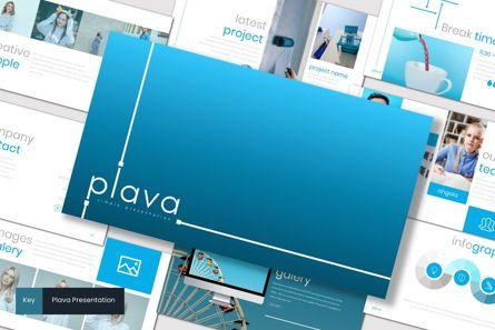 Presentation Templates: Plava - Keynote Template #07221